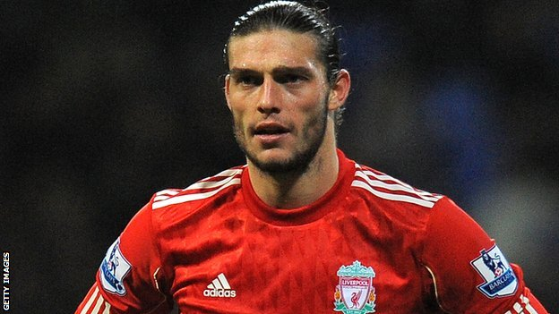Liverpool striker Andy Carroll is finally feeling at home at Anfield
