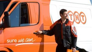 TNT was spun off from Dutch mail company PostNL in May