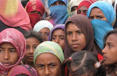 Girls in Deir Ayyash