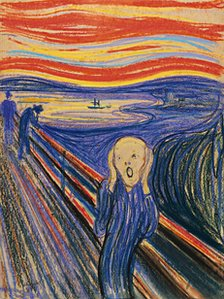 Edvard Munch's  The Scream (1895)