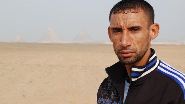 Gaza runner Nader el Masri