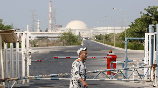 Iran's Bushehr nuclear facility