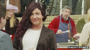 The Paddy Power TV advert featured trans gendered women at Cheltenham Festival