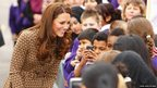 The Duchess of Cambridge at Oxford Spires Academy