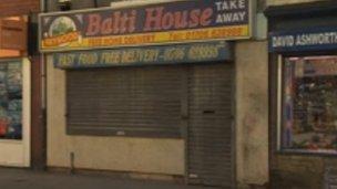 Balti House in Heywood