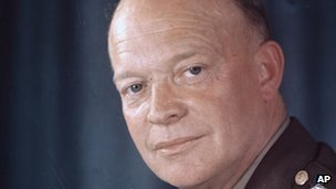 US President Dwight Eisenhower