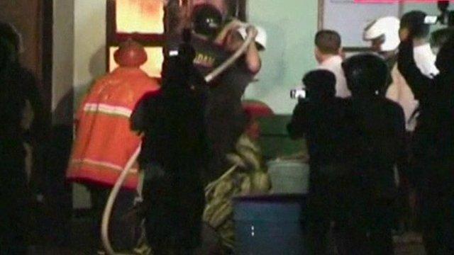 Police storm Bali jail