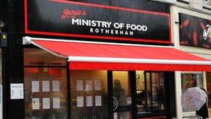 Jamie's Ministry of Food in Rotherham