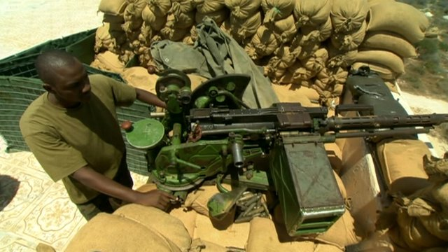 African Union soldier in Somalia
