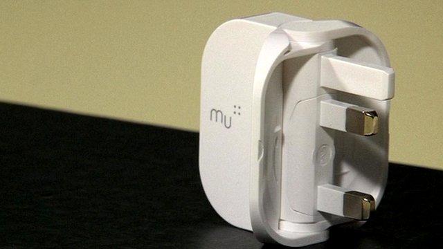 The folding plug