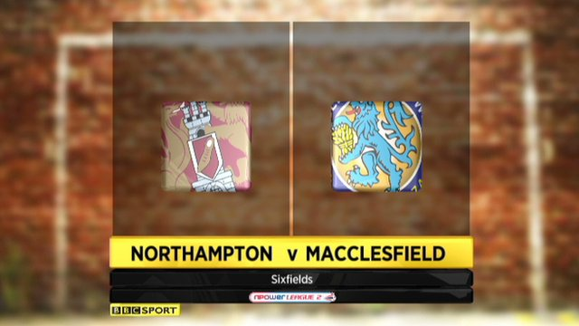 Northampton 3-2 Macclesfield