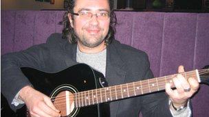 Musician and political activist, Damir Niksic