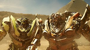 promotional still from Transformers