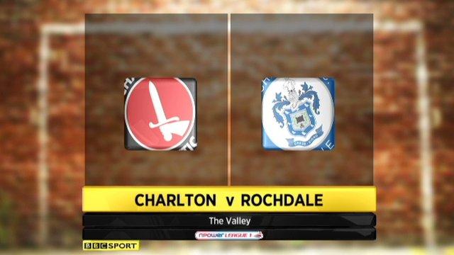 Charlton 1-1 Rochdale