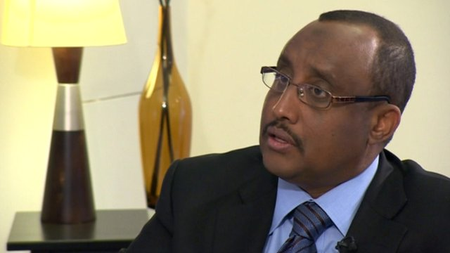 Somalia's Prime Minister, Abdiweli Mohammed Ali