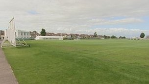 Gloucestershire County Cricket Club&#039;s Nevil Road ground