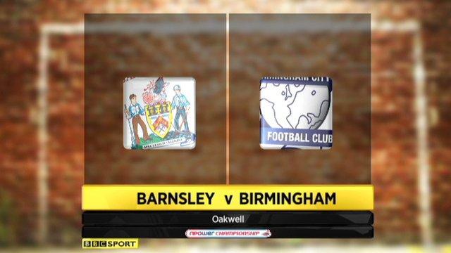 Barnsley 1-3 Birmingham