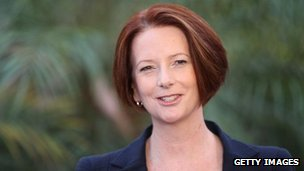 Australia&#039;s Prime Minister Julia Gillard, 23 February, 2012