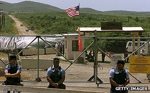 US bombing range on Puerto Rico