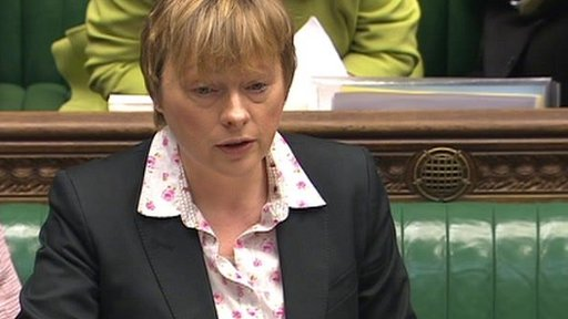 Shadow Commons leader Angela Eagle