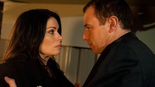 Carla and Frank in Coronation Street