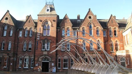 Darlington Arts Centre. Photo: Darlington Borough Council
