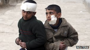 Children injured in Musayyib car bomb