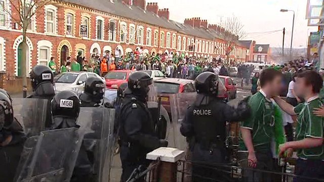 Holylands on St Patrick's Day