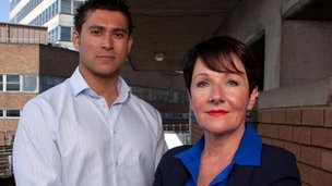 Rav Wilding and Miriam O'Reilly in Countryfile