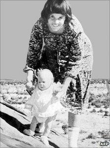Lindy and Azaria Chamberlain