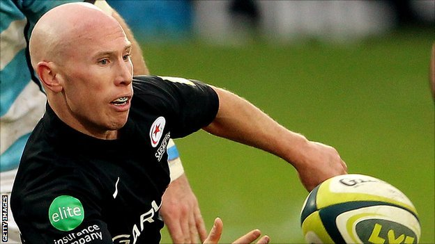 Peter Stringer to join Newcastle Falcons from Saracens