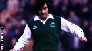 George Best in action for Hibernian