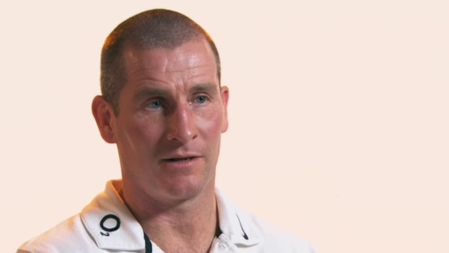 England interim head coach Stuart Lancaster 