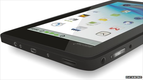 The Aakash tablet from Datawind
