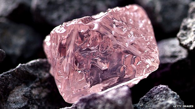 Large pink diamond