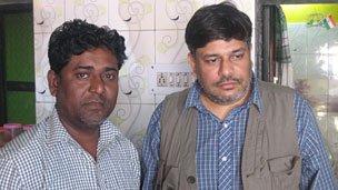 Qutubuddin Ansari and Arko Datta
