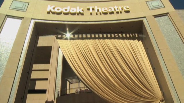 The Kodak Theatre entrance