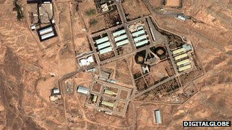 Facilities in Parchin (image DigitalGlobe)