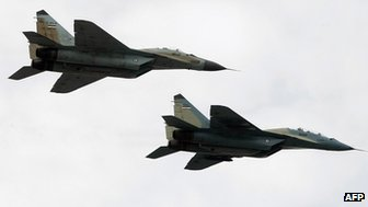 Iranian Mig-29s