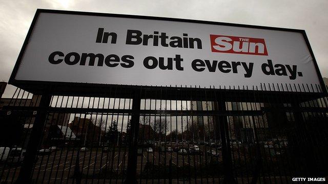 Sun on Sunday billboard