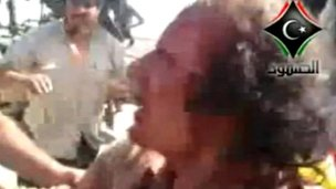 Colonel Gaddafi captured in Sirte