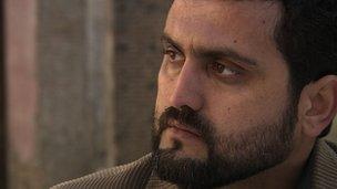 Theatre manager Sharpoor Sadaqat
