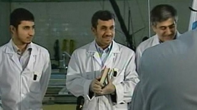 Iran's president Mahmoud Ahmadinejad - file photo