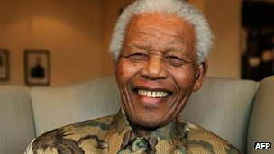 Nelson Mandela has rarely appeared in public in recent years