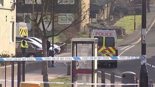 Southampton scene of shooting