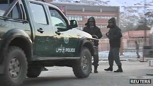 The shooting took place inside one of the highest security buildings in Kabul