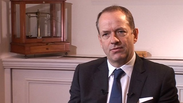 GlaxoSmithKline chief, Sir Andrew Witty