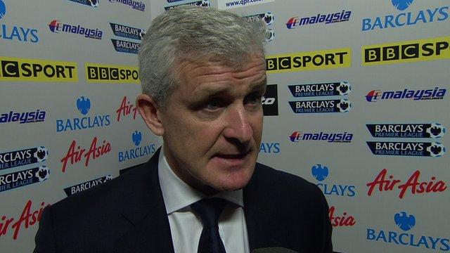 Fulham boss Mark Hughes