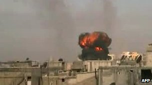 Shelling of Homs, 25 Feb 2012
