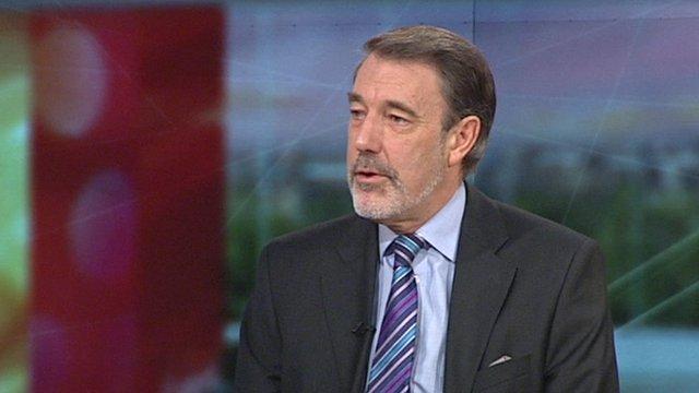 The BMA's Dr Hamish Meldrum